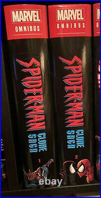 Spider-Man Clone Saga Vol 2 + Vol 1 Omnibus Marvel Comics Hardcover HC OOP