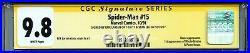 Spider-Man Vol 1 15 CGC 9.8 SS X2 Stan Lee Larsen 1st Masterblaster Powerhouse