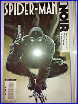 Spider-man Noir #1 (2009) Vol 1 Cgc 9.8 Nm/mt White Pages Zircher Variant