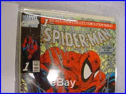 Spiderman Platinum Edition Aug 1990 No. 1 Vol. 1 with Letter from Marvel