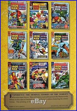 Stan LeeGene ColanSIGNEDInvincible Iron ManMARVEL MASTERWORKS Vol 651st/1st