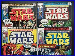 Star Wars #1-29, 38 & annual #1, vol 1 (Marvel, 1977) 1st print