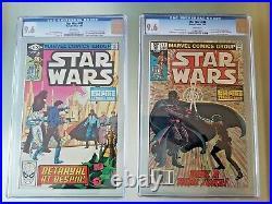 Star Wars #43 & #44 9.6 (WP) CGC Marvel Comics volume 1
