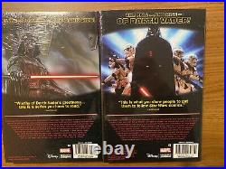 Star Wars Darth Vader deluxe Vol 1 & 2 HC Lot, Gillen, Larroca, OOP Marvel