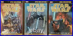 Star Wars Epic Collection Old Republic Vol 1 2 3 Complete TPB Mint Set Marvel