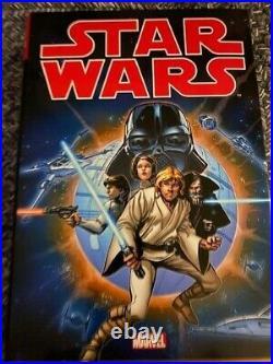 Star Wars The Original Marvel Years Omnibus HC Vol. 1, 2 and 3