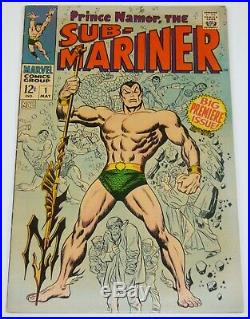 Sub-Mariner, The (Vol. 2) #1 VG Marvel low grade comic save on shipping d