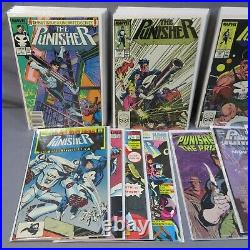 THE PUNISHER #1-50, Annuals #1-4 + Extras (Straight Run of Volume 2) Marvel 1987