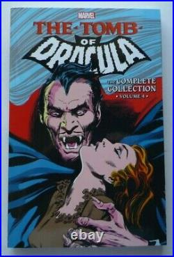 THE TOMB OF DRACULA The Complete Collection Vol 1 (OOP!) 2 3 4 TPB Marvel