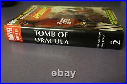 TOMB OF DRACULA Volume 1, 2 & 3 OMNIBUS Gene Colan & Adams Variants NEWithUnsealed