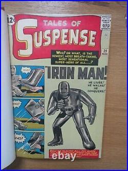 Tales Of Suspense #39-53 Bound Volume High Grade Iron Man Gem