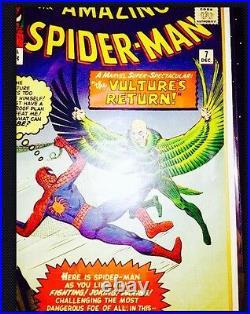 The Amazing Spider-Man #7 (1962) Vol1 VULTURE- High Grade Stan Lee /Ditko
