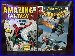 The Amazing Spider-Man Omnibus Volume 1 2 Hardcover Lot