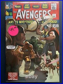 The Avengers Omnibus Vol 1 2 3 4 NEW SEALED Marvel HC Hardcover
