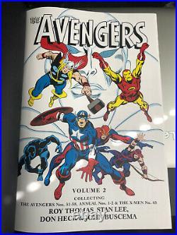 The Avengers Omnibus Volume 2 DM Variant Marvel Comics OOP Stan Lee