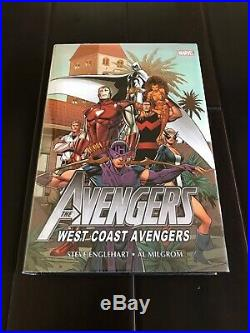 The Avengers West Coast Avengers Omnibus Vol 1 & 2 Combo Marvel Brodart OOP