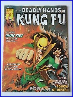 The Deadly Hands of Kung Fu #19 FN+ (6.5) (Vol 1 1975) 1st app White Tiger