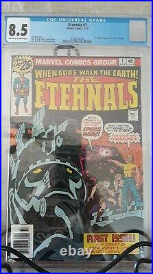 The Eternals Vol 1 Issue 1 (Slabbed CGC Grade 8.5) by Comic Blink