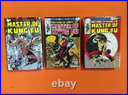 The Hands Of Shang Chi Master Of Kung Fu Omnibus Hc Vol 1 2 3 / Nm Oop Lot