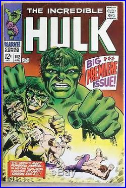 The INCREDIBLE HULK #102 Vol. 2 MARVEL KEY ISSUE! VF/NM 8.5! FREE SHIPPING
