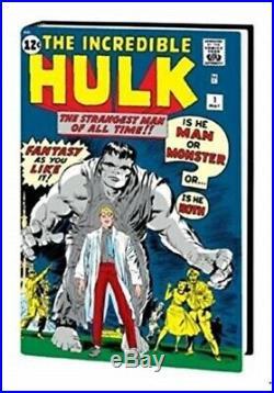 The Incredible Hulk Vol. 1 Marvel Omnibus by Stan Lee Hardcover New