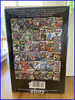 The Invincible Iron Man Vol 2 Omnibus. Sealed! Never Read! HC Rare