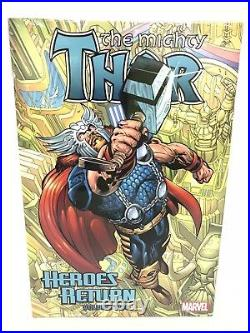 The Mighty THOR Heroes Return Omnibus Volume 2 Col #36-85 Marvel HC Sealed $125