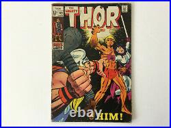 The Mighty Thor Vol 1 Number 165 (1969) 1st full app of HIM (Adam Warlock)