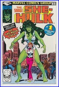 The Savage She-Hulk Vol1 #1 Marvel 1980 NM 1st of Jennifer Walters Unread Copy