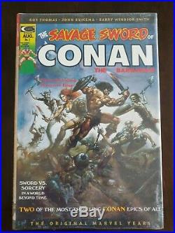 The Savage Sword of Conan Omnibus Vol 1 DM Variant HC MARVEL NEW SEALED OOP RARE