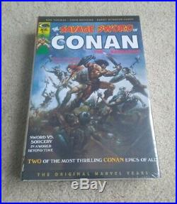 The Savage Sword of Conan Omnibus Vol 1 DM Variant HC MARVEL NEW SEALED OOP RARE