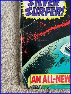 The Silver Surfer #1 Vol 1 August 1968 Marvel Comic US