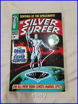 The Silver Surfer Omnibus Vol 1 By Stan Lee Hardcover