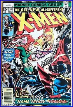 The UNCANNY X-MEN #105 Vol. 1 MARVEL NM+ 9.6! FREE SHIPPING