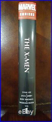The X-Men Omnibus Vol 1 Stan Lee Jack Kirby Alex Ross Cover SEALED HC Marvel OOP
