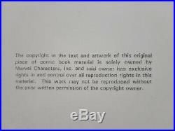 Thor #25 Volume 2 John Romita Jr & Dick Giordano Original Art Marvel 2000