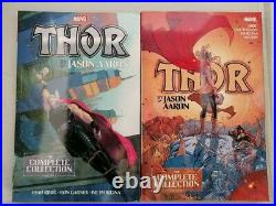 Thor by Jason Aaron The Complete Collection Vol. 1 & 2 TPB Set 1302918109 NEW