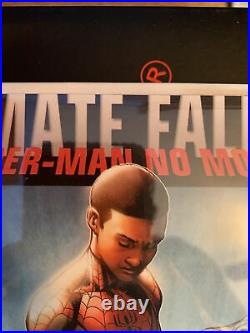 Ultimate Fallout #4 Vol 1 2nd Print 1st Miles Morales