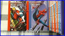 Ultimate Spider-Man Hardcover (Oversized) Vol 1-10 + Marvel Team-Up 1