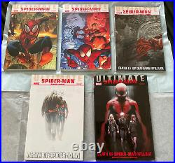 Ultimate Spider-man Vol. 1-22 + 1-5 TPB by Bendis RARE OOP LOT! Issues 1-160