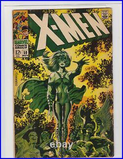 Uncanny X-Men 50 Polaris Appearance Marvel Vol 1 Silver Age 1968 Key Issue