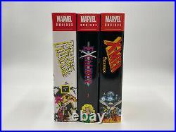 Uncanny X-Men Claremont Vol. 1-4 Excalibur X-Men Inferno New Mutants Omnibus