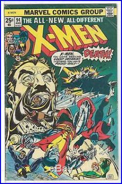 Uncanny X-Men (Vol 1) # 94 FN- (Fine Minus-) RS003 Marvel Comics AMERICAN