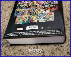 Uncanny X-men Omnibus Vol 1 & 2 Hardcover Claremont Marvel Comics Read Once