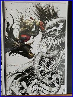 Venom #26 27 28 29 30 #1 Vol. 4 Tyler Kirkham Virgin Color Splash 6 Comics New