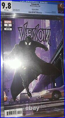 Venom Vol 4 Issue #9 Animation Variant Cover (CGC Grade 9.8) by Comic Blink