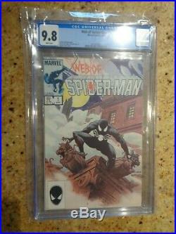 Web Of Spider-Man #1 (April 1985 Vol 1 Marvel)CGC 9.8 (NM/M)