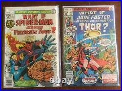 What If 1 47 Marvel 1977 Vol 1 Complete Lot 10 31 23 13 Eternals Spiderman
