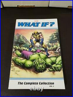 What If Complete Collection Vol 1 3 Brand New Marvel Comics TPB