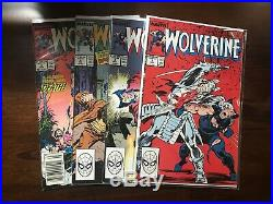 Wolverine #1-100 FULL RUN Volume 1 1988 Marvel All First Print 100 issues